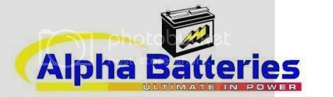 Alpha Batteries logo